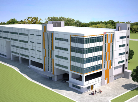 6-Storey Single-User Industrial Development